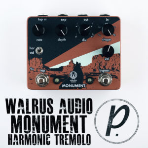 Walrus Audio Monument Harmonic Tap Tremolo