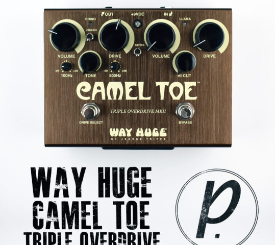Way Huge Electronics® Camel Toe™ Triple Overdrive MkII