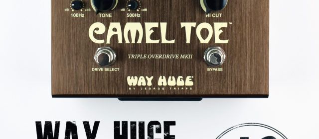 Way Huge Electronics® Camel Toe™ Triple Overdrive MkII