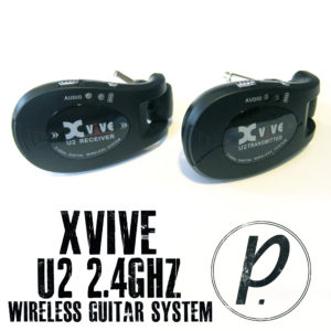Xvive Audio U2 2.4GHz Wireless Guitar System 1