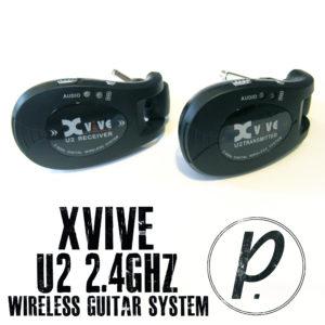 Xvive Audio U2 2.4GHz Wireless Guitar System 1
