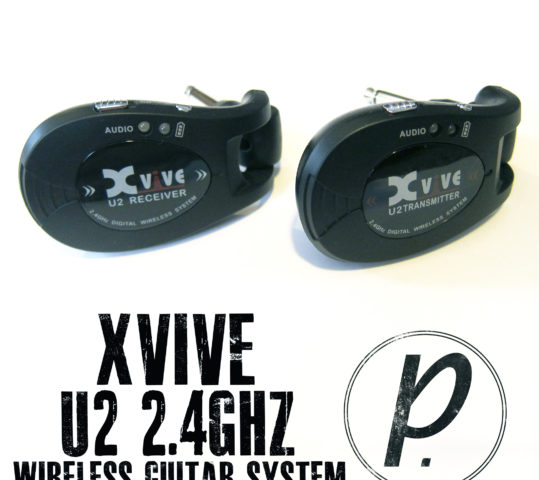 Xvive Audio U2 2.4GHz Rechargeable Wireless Guitar System