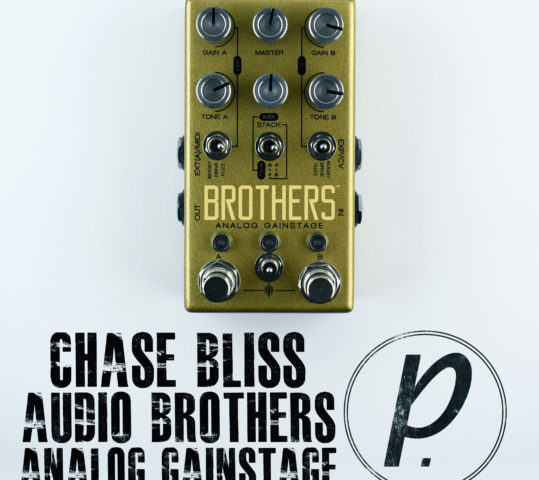 Chase Bliss Audio Brothers™ Analog Gainstage