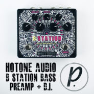 Hotone Audio B Station Bass Preamp + D.I.