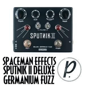 Spaceman Effects Sputnik II Deluxe Germanium Fuzz