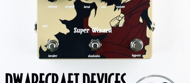 Dwarfcraft Devices Super Wizard Pitch Shifter Echo