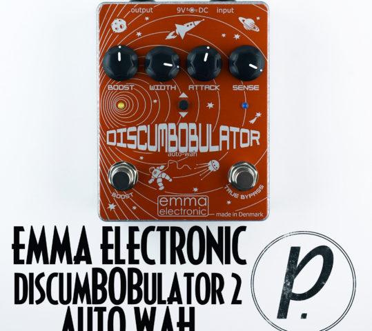 Emma Electronic DB-2 DiscumBOBulator v2 Auto Wah Envelope Filter
