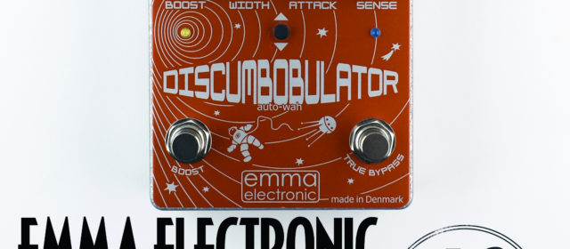 Emma Electronic DB-2 DiscumBOBulator v2 Auto Wah Envelope Filter