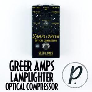 Greer Amps Lamplighter Optical Compressor