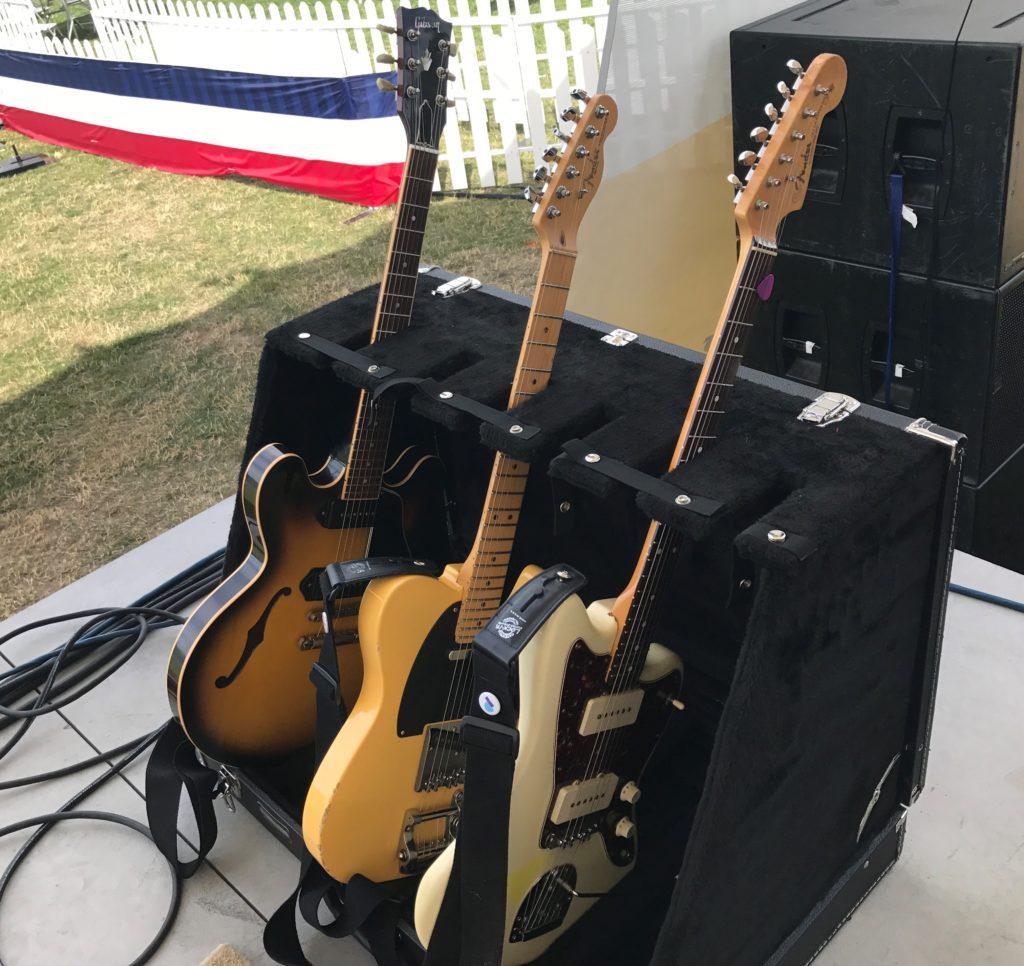 Michael Parker - Pickwick - Guitars