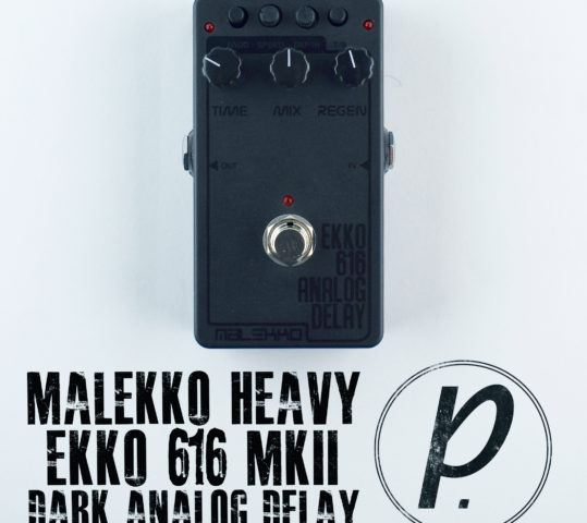 Malekko Heavy Industry 616 MkII Ekko Dark Delay