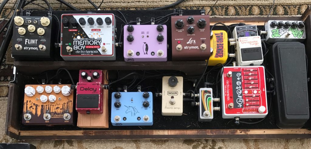Michael Parker - Pickwick - Pedals