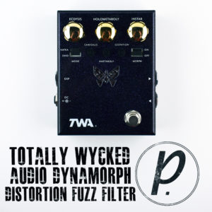 Totally Wycked Audio DM-02 Dynamorph Distortion Fuzz Filter