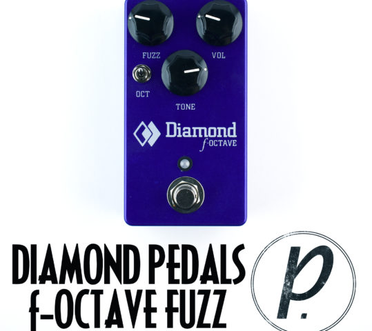 Diamond Pedals f-Octave Fuzz Octave