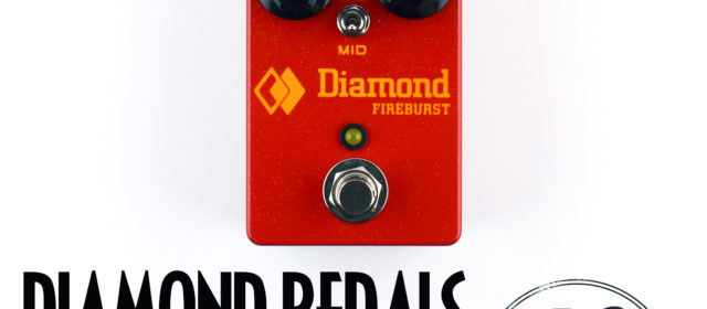 Diamond Pedals Fireburst Fuzz Distortion v2