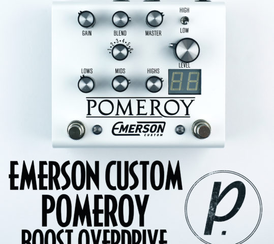 Emerson Custom Pomeroy Boost Overdrive