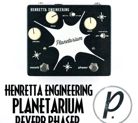 Henretta Engineering Planetarium Reverb Phase Shifter
