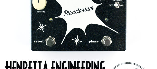 Henretta Engineering Planetarium Reverb Phase Shifter