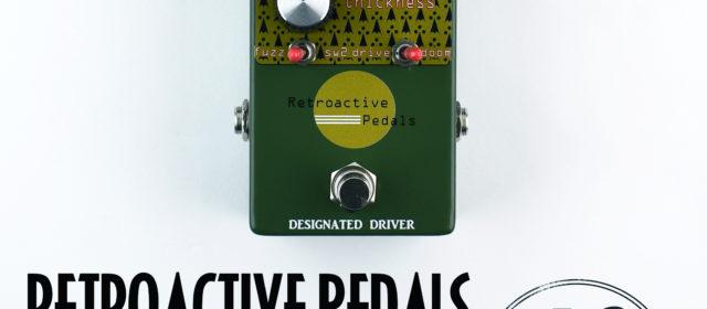Retroactive Pedals Designated Driver Fuzz