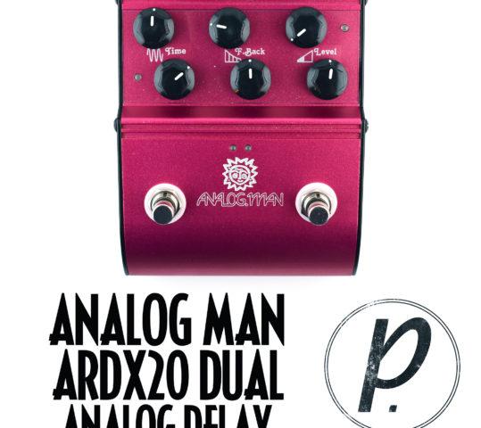Analog Man ARDX20 Dual Analog Delay