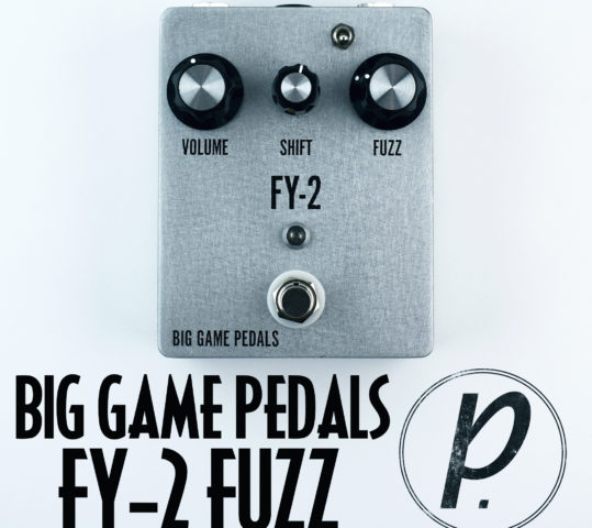 Big Game Pedals FY-2 Fuzz