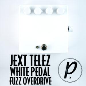 Jext Telez White Pedal Fuzz Overdrive