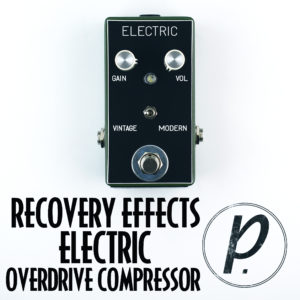 Recovery Effects Electric Boost Overdrive Compressor