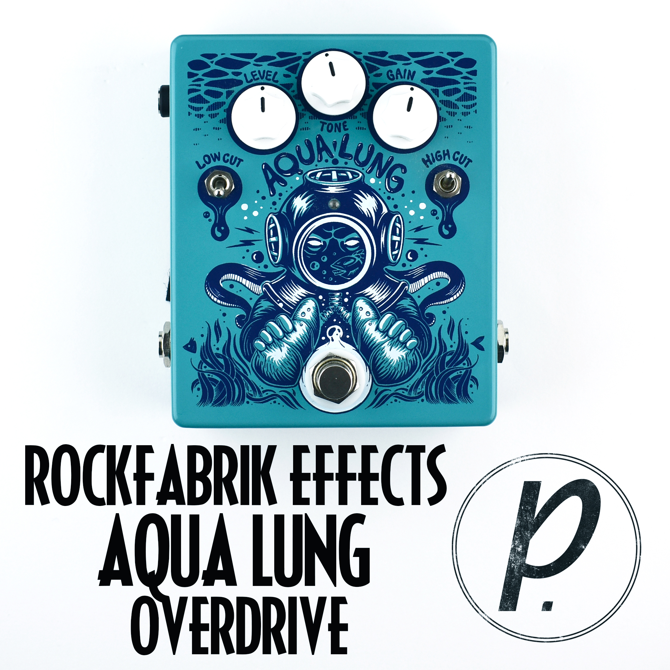 rockfabrik effects aqua lung overdrive pedal of the day