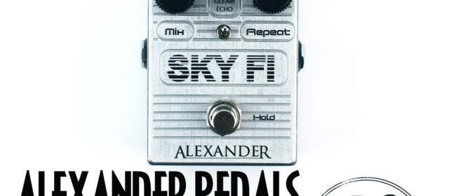 Alexander Pedals Sky Fi Reverb Delay