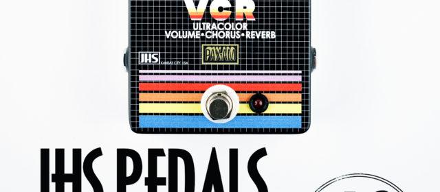 JHS Pedals VCR Volume Chorus Reverb