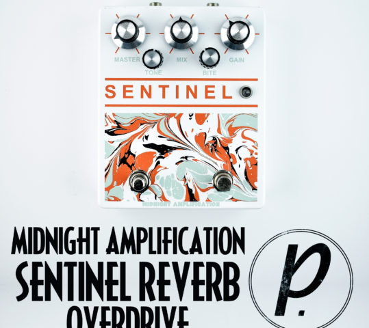Midnight Amplification Sentinel Reverb Overdrive