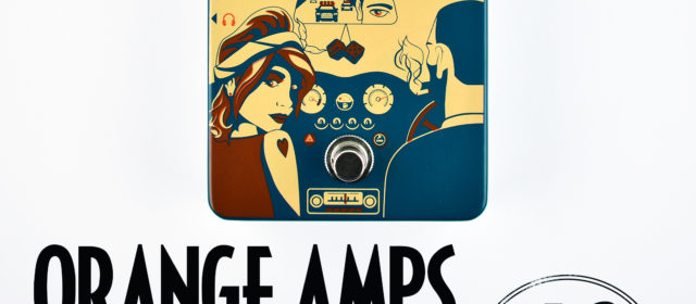Orange Amps Getaway Driver Overdrive