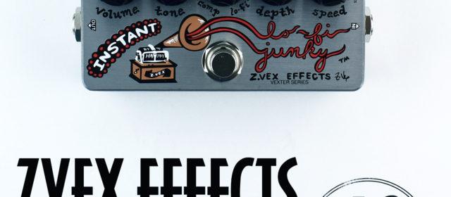ZVEX Effects Instant Lo-Fi Junky Compressor Chorus Vibrato