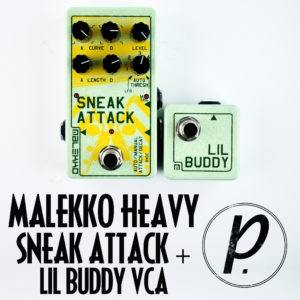 Malekko Heavy Industry Sneak Attack + Lil Buddy Digitally Controlled Analog VCA