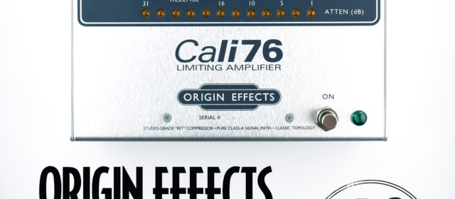 Origin Effects Cali76 Standard Compressor Limiting Amplifier