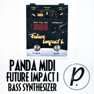PandaMIDI Future Impact I Bass Synthesizer