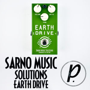 Sarno Music Solutions Earth Drive Overdrive Boost