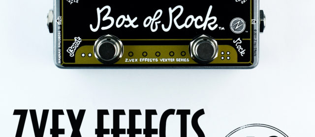 ZVEX Effects Box of Rock Overdrive