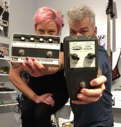 Johnny & Victoria Balmer at the Alchemy Audio Shop 2