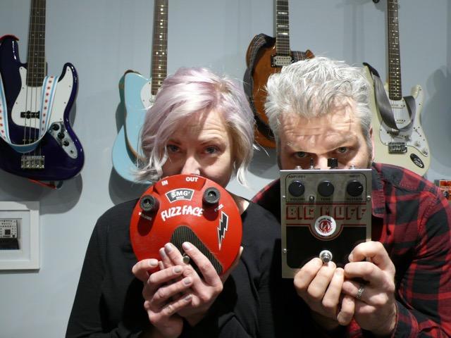 Johnny & Victoria Balmer at the Alchemy Audio Shop 3