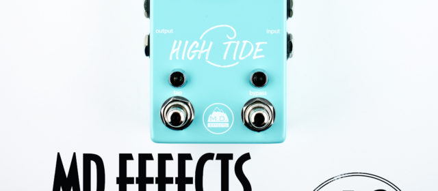 MD Effects High Tide Chorus Reverb Delay