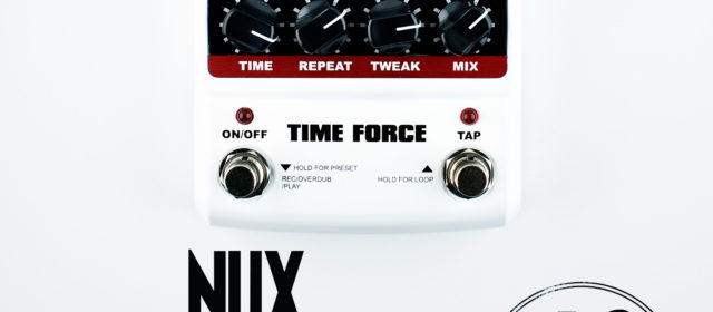 NUX Time Force Multi Modulation Digital Delay