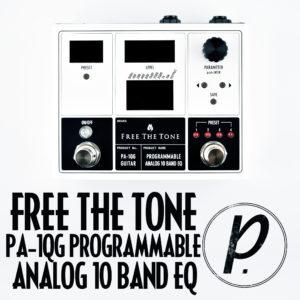 Free The Tone PA-1QG Programmable Analog 10 Band EQ