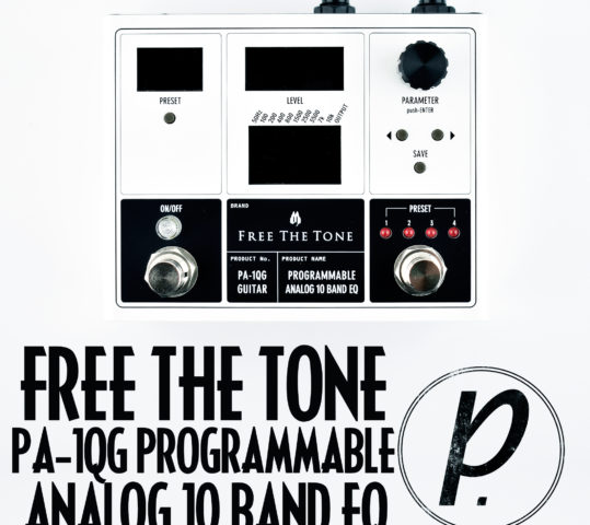 Free The Tone PA-1QG Programmable Analog 10 Band EQ