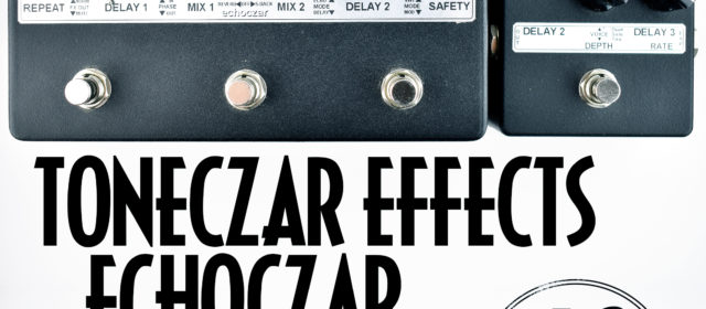 Toneczar Effects Echoczar Analog Stereo Delay