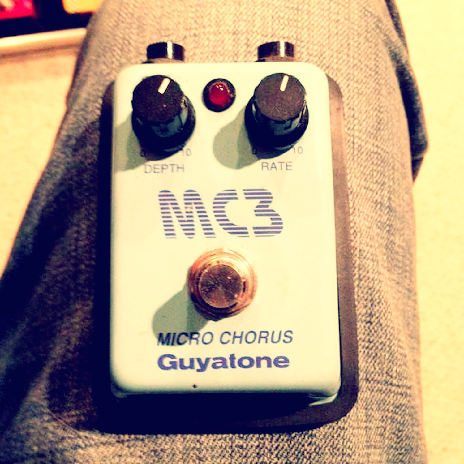 Godlyke Archives Pedal Of The Day Technology Autowahs Envelopecontrolled Filters Guyatone Mc3 Micro Chorus