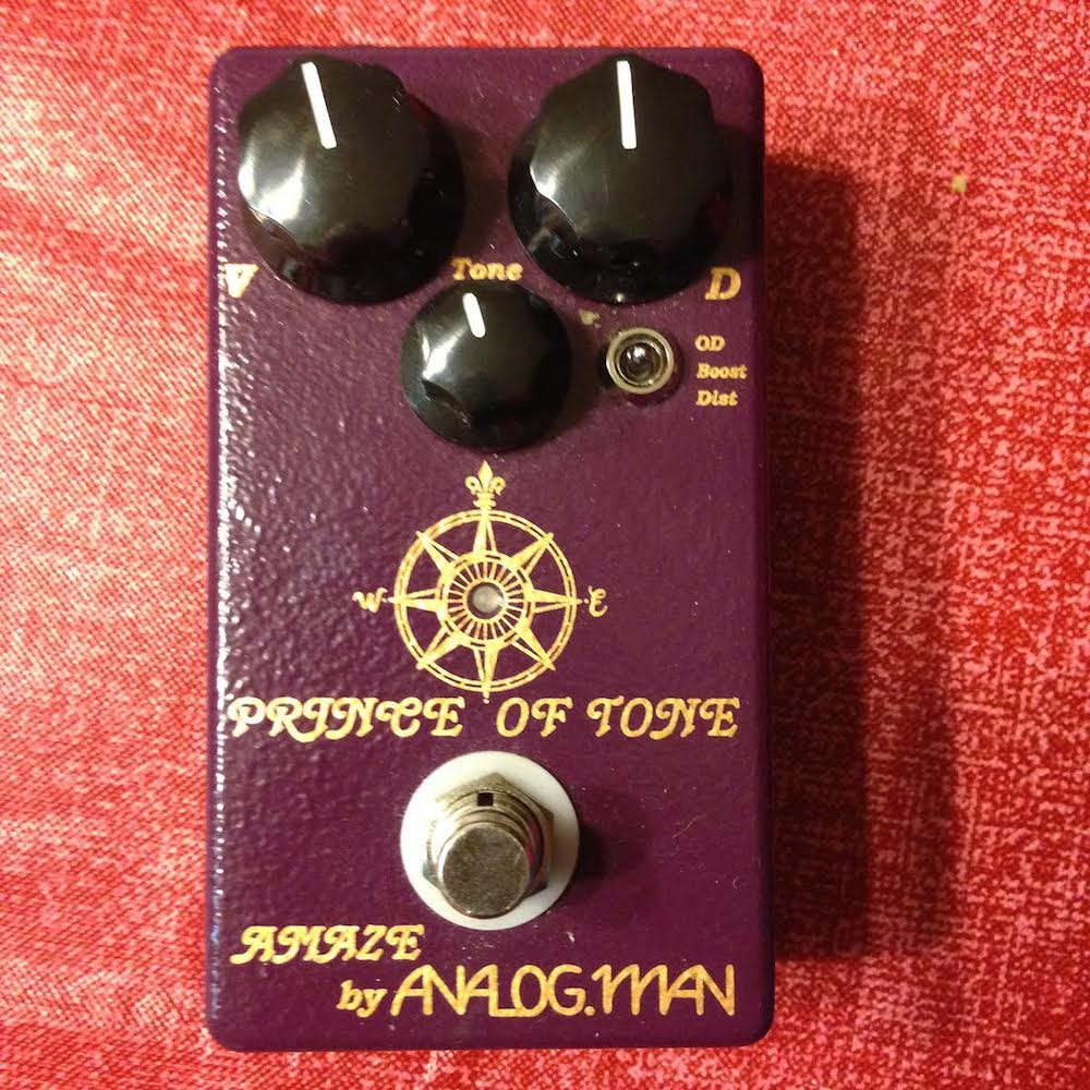 Analogman Prince Of Tone Overdrive - Pedal of the Day