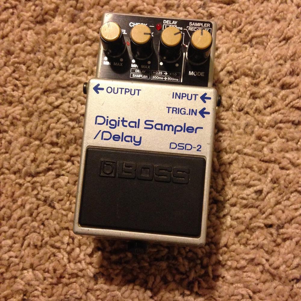 boss dsd 2 digital sampler delay pedal of the day. Black Bedroom Furniture Sets. Home Design Ideas