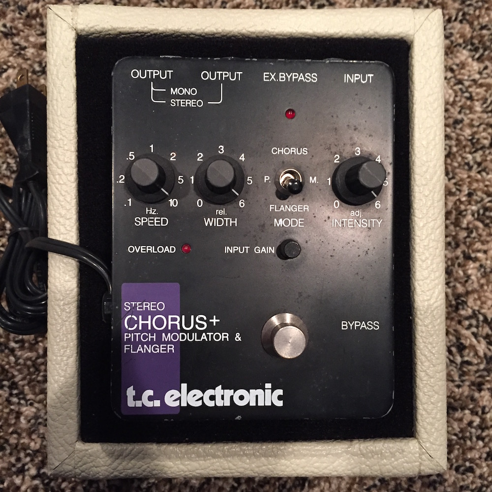 tc electronic scf stereo chorus flanger pedal of the day. Black Bedroom Furniture Sets. Home Design Ideas