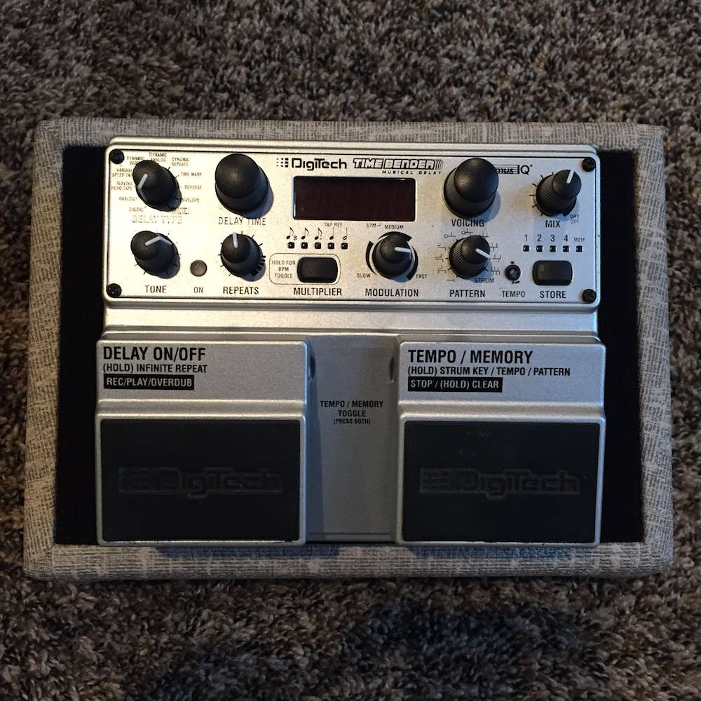 Digitech Timebender Digital Delay Pedal Of The Day Bbe Wah Class A Circuit Design Icon Music